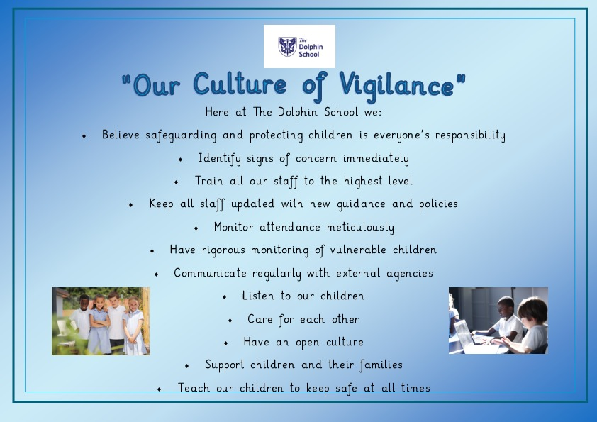 Dolphin school culture of vigilance