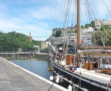 Day 1 leaving bristol harbour dscf1108