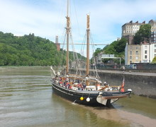Day 1 leaving bristol harbour dscf1117