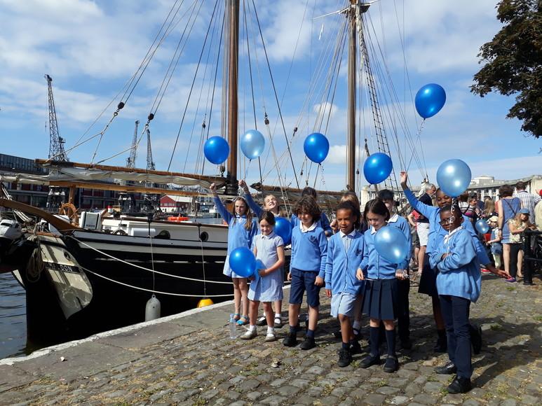 The Dolphin School choir