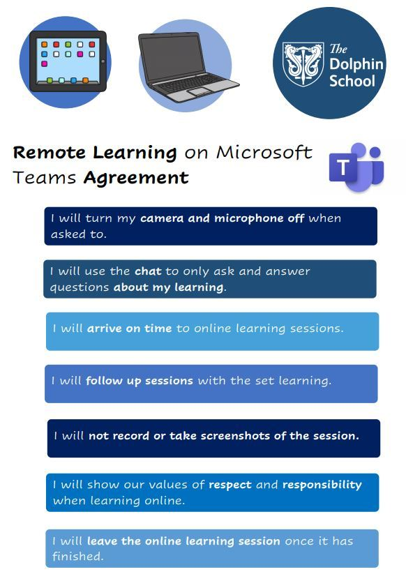 Remote learning agreement