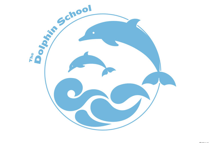The Dolphin School emblem 2021