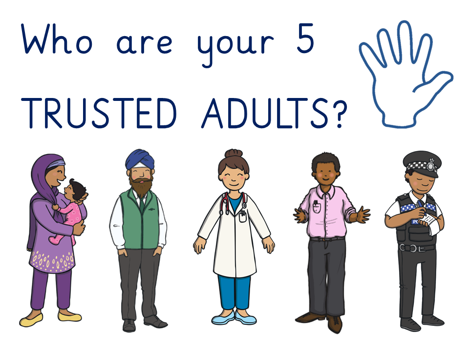 5 trusted adults